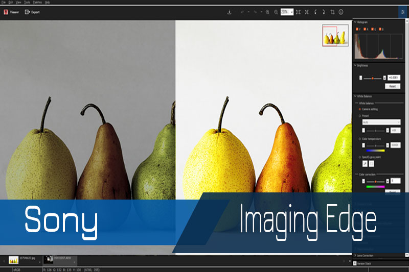 Sony, Imaging Edge